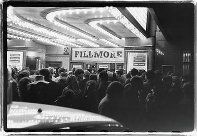 Photograph - Doors Fans At The Fillmore East by Fred W. McDarrah