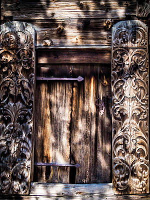 Photograph - Doors Of Skansen by Robin Zygelman