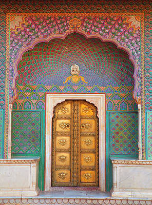 Indian Culture Photograph - Doorway by Grant Faint