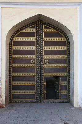 Photograph - Doorway In City Palace Jaipur by Cultura Exclusive/karen Fox