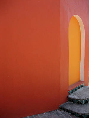 Photograph - Doorway In Mexico by Caitlin w