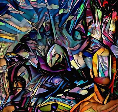 Recently Sold - Surrealism Digital Art - Doorway to dreams by Bruce Rolff