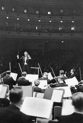 Photograph - Dorati At Carnegie Hall by Erich Auerbach