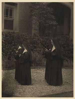 Traditional Bells - Doris Ulmann 1882-1934, Portrait of Four nuns in procession by Doris Ulmann