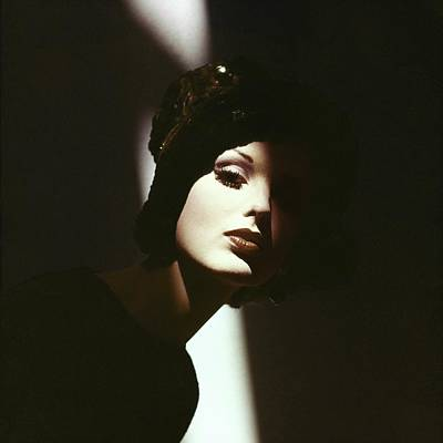 Photograph - Dorothea Mcgowan In Adolfo Of Emme by Bert Stern