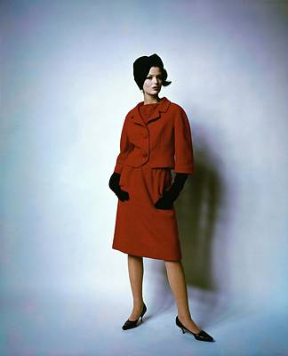 Photograph - Dorothea Mcgowan Wearing David Kidd For Jablow by Bert Stern