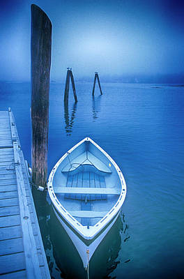 Photograph - Dory In The Fog by Joseph Devenney