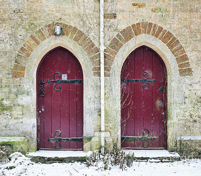 Art Print featuring the photograph Double Doors by Tim Gainey