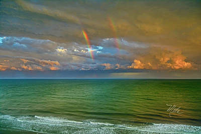 Photograph - Double Rainbow Myrtle Beach by Meta Gatschenberger