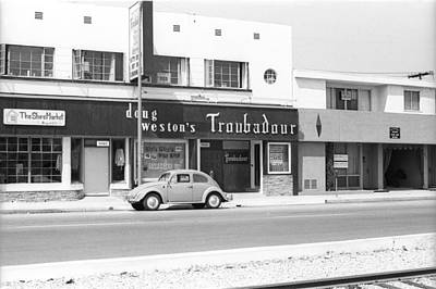 Photograph - Doug Westons Troubadour by Michael Ochs Archives