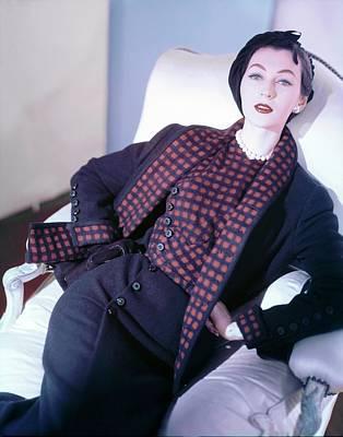 Photograph - Dovima Wearing Sophie Of Saks by Horst P. Horst