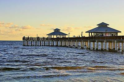 Photograph - Down By The Pier by Michiale Schneider