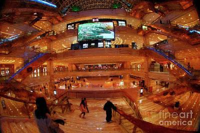 Photograph - Down The Stairs New Century Global Center Chengdu China  by Blake Richards