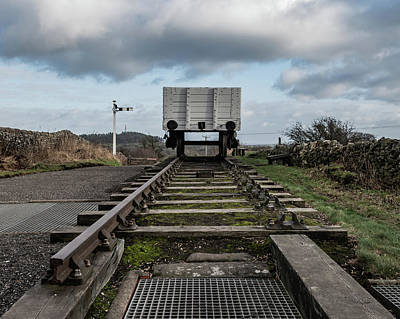 Photograph - Down The Tracks At Middleton Top by Scott Lyons