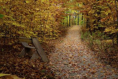 Photograph - Down The Trail by David Heilman