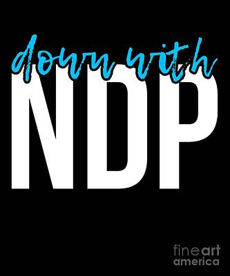 Digital Art - Down With Ndp Nancy Pelosi by Flippin Sweet Gear