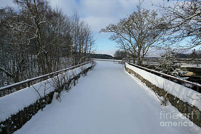 Photograph - Downan Bridge - Glenlivet by Phil Banks