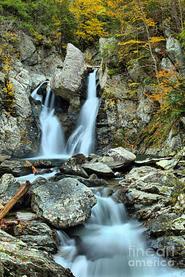Photograph - Downstream From Bash Bish by Adam Jewell