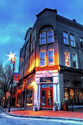 Photograph - Downtown Asheville Shops by Carol Montoya
