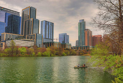 Photograph - Downtown Austin In Spring by Dan Sproul