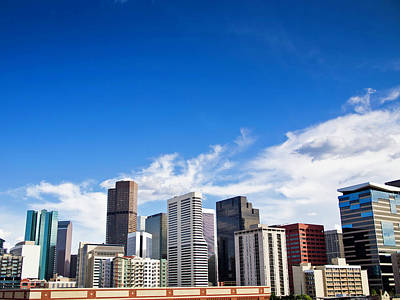 Denver Skyline Photograph - Downtown Denver From Coors Field by Erick4x4