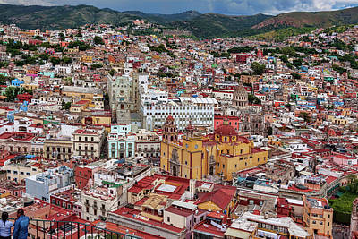 Photograph - Downtown Guanajuato, Mexico by Tatiana Travelways