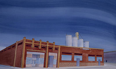 Painting - Downtown Harrington by Scott Kirby