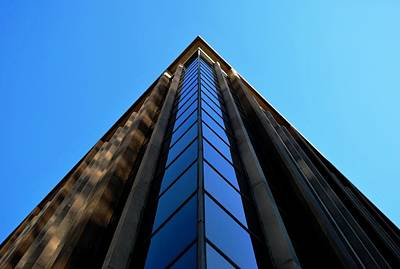 Photograph - Downtown La Building Corner by Matt Harang