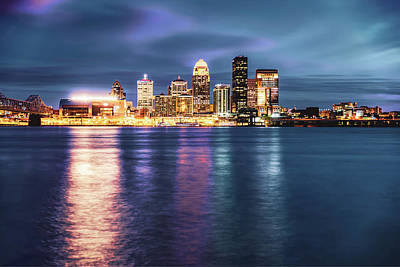 Photograph - Downtown Louisville On The Ohio River by Gregory Ballos