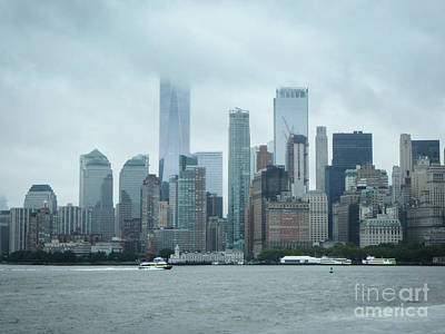 Photograph - Downtown New York City by Judy Hall-Folde