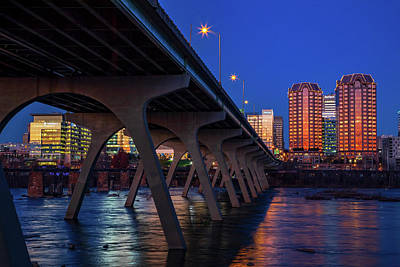 Wall Art - Photograph - Downtown Richmond by Cliff Middlebrook