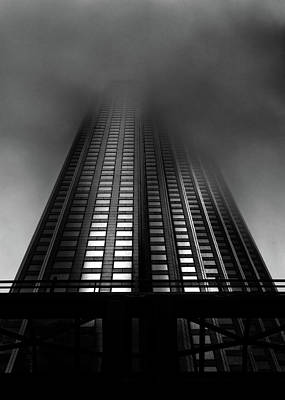 Photograph - Downtown Toronto Fogfest No 11 by Brian Carson