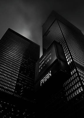 Art Print featuring the photograph Downtown Toronto Fogfest No 16 by Brian Carson
