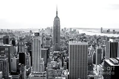 Photograph - Downtown View New York City 2006 by John Rizzuto