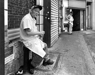 Photograph - Doyers Street, Chinatown by Michael Gerbino