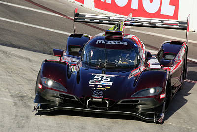Sports Royalty-Free and Rights-Managed Images - DPI Mazda #55 by Shoal Hollingsworth