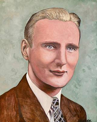 Painting - Dr. James Roderick II by Tom Roderick