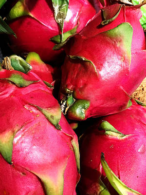 Photograph - Dragon Fruit by Jeff Iverson