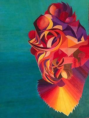 Dragon Koi Art Print by Jonathan Favors