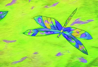 Photograph - Dragonfly Greens by Alice Gipson