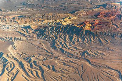 Photograph - Drainage Patterns by Michael Balen