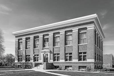 Photograph - Drake University Carnegie Hall by University Icons