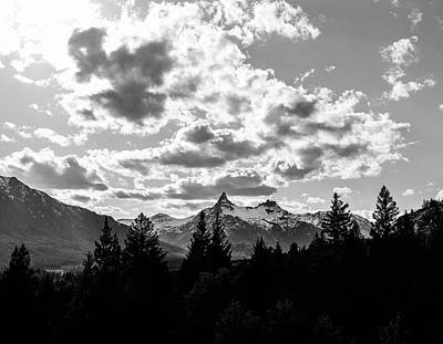 Photograph - Dramatic Beartooth Mountains by Dan Sproul