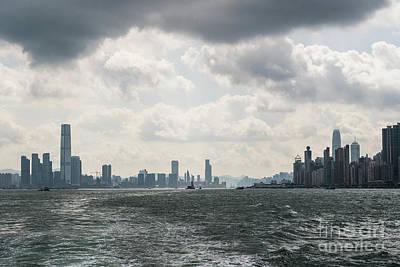 Photograph - Dramatic Hong Kong by Didier Marti