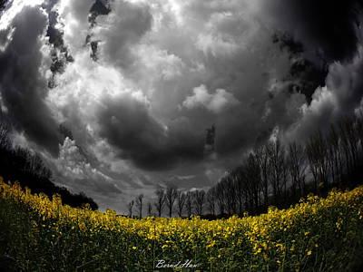 Digital Art - Dramatic Sky by Bernd Hau