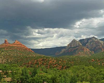 Photograph - Dramatic Sky Over Sedona Az Arizona by Toby McGuire