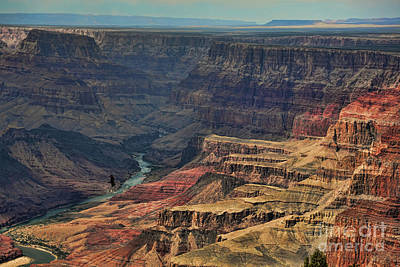 Photograph - Dramatic View Grand Canyon  by Chuck Kuhn