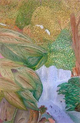 Painting - Drawning Survival by Walter Rivera Santos
