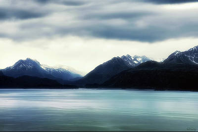 Photograph - Dream Enhanced Kachemak Bay And Kenai Mountain Range by Dee Browning
