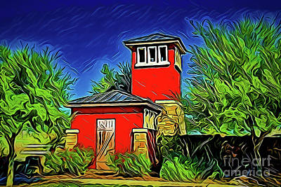 Painting - Dream Home A18-159 by Ray Shrewsberry